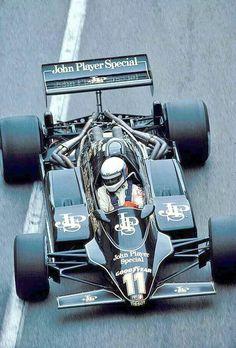 Classic Formula 1 on Elio de Angelis, JPS Lotus-Ford 91 ~ 1982 Monaco Grand Prix. Lotus F1, Motogp, Gp Moto, Course Automobile, Gilles Villeneuve, Formula 1 Car, Monaco Grand Prix, F1 Racing, Muscle Cars