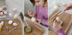 Seid ihr noch auf der Suche nach einer schönen Idee für Ostereier? Dann hab ich vielleicht genau die richtige Last-Minute Gold Ostereier DIY Idee für euch.