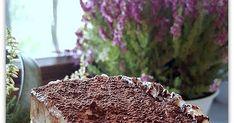 Smaczne ciasto o dość egzotycznej nazwie. Dziś zapraszam Was na moją wersję tego placka. Biszkopt, słodka masa czekoladowa oraz bita śmieta...