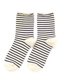 HANSEL FROM BASEL - Nautical stripe crew socks | Multi-colour Socks | Womenswear | Lane Crawford - Shop Designer Brands Online