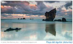 Playa del Aguilar, Asturias by Javier Díaz (javibichos.blogspot.com), via Flickr