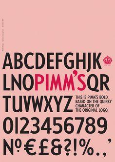 Pimm's Typeface