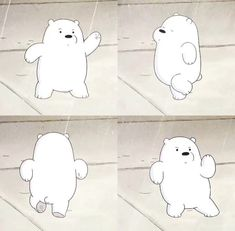 Bear Wallpaper, Cartoon Wallpaper, Cartoon Network, We Are Bears, Polaroid, We Bare Bears Wallpapers, We Bear, Bear Cartoon, Cute Bears