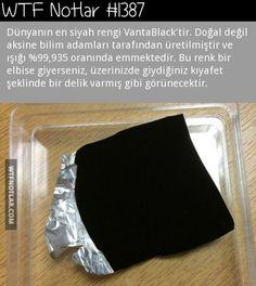 Dünyanın en siyah, koyu rengi, VantaBlack 1