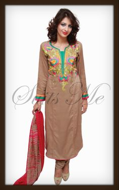 Explore a great collection in Women Outfits by Suits Me: http://www.suitsmeonline.com/womens-churidar-suit/ladies-churidar-suits/churidar-suit/sml2308.aspx