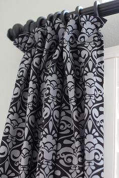 Hiding The Curtain Clips   Such A Great Idea