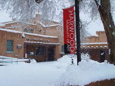 Harwood Museum Of Art...Snow in Taos