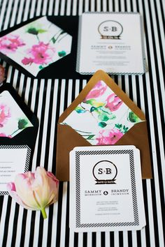 Love the envelopes and liners