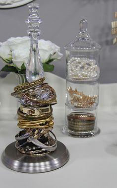Fun ways to showcase and organize your jewelry
