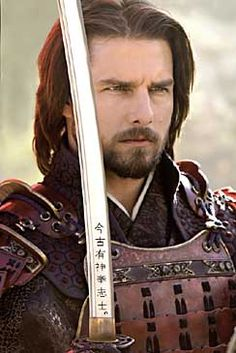 Tom Cruise as Nathan Algren, The Last Samurai (2003) dir. Edward Zwick