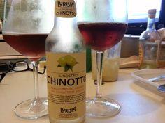 Chinotto di Lurisia.... Preparato con vero estratto di chinotto senza conservanti, coloranti e aromi sintetici.
