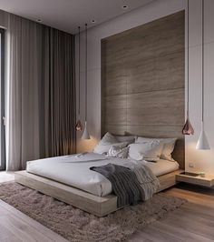 Home Interior Design .Home Interior Design Modern Master Bedroom, Modern Bedroom Design, Master Bedroom Design, Home Decor Bedroom, Home Interior Design, Bedroom Ideas, Bedroom Furniture, Furniture Sets, Luxury Interior