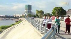 រាជធានីភ្នំពេញ សូមស្វាគមន៍ !  Welcome To Phnom Penh, The Kingdom of Cambodia  សូមជូនពរបងប្អូនប្រជាពលរដ្ឋជួបតែសេចក្តីសុខ សុវត្ថិភាពក្នុងការធ្វើដំណើរកម្សាន្តជិតឆ្ងាយនៅថ្ងៃសម្រាកចុងសប្ដាហ៍៕
