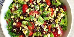 Best Southwestern Chopped Salad Recipe-How to Make Southwestern Chopped Salad-Delish.com