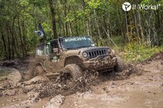 Don't get stuck in the mud! Be like the ENERGY Jeep and keep pushing through the end of round 3! #BRINGIT It Works Off-Road