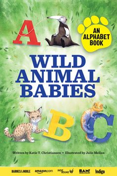 Kids, teachers, and parents alike will love this ABC alphabet book starring wild animal babies! Whether you need a book for circle time, for bedtime, or just for fun, this adorable book is perfect. There is an animal baby for each letter of the alphabet with fun and exciting facts that kids will love learning about (and you will too!). Preschool Writing, Preschool Science, Preschool Alphabet, Alphabet Book, Animal Alphabet, Geography For Kids, Preschool Programs, Baby Animals, Animal Babies