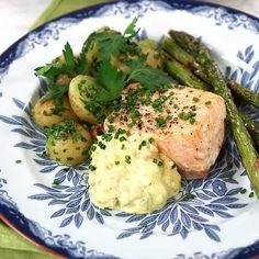 Färskpotatis | Köket.se Bastilla, Risotto, Potato Salad, Mashed Potatoes, Fish, Meat, Chicken, Ethnic Recipes, Whipped Potatoes