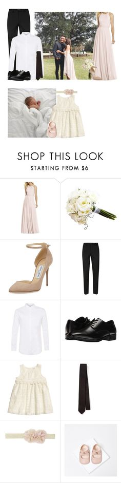 """2/18/17 Emme And Boss' Wedding"" by carsonfamily ❤ liked on Polyvore featuring After Six, Jimmy Choo, Topman, Stacy Adams, Joseph and Zara"