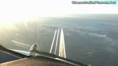 Pilot Films 3 Chemtrails Tankers air to air
