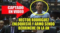 """A continuación le presentamos el """"berrinche"""" que armó en plena sesión de la Asamblea Nacional el diputado de la bancada de la minoría oficialista, Héctor Rodríguez (Psuv) al serle negada la incorporación de un..."""