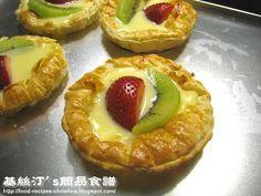 Fruit Custard Tarts Recipe (Christine's Recipes)