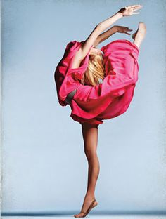 Gymnast Nastia Liukin: photo shoot for Maz Azria's Spring 2009 collection.