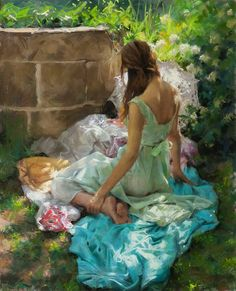 VICENTE ROMERO REDONDO -repinned by http://LinusGallery.com  #art #artists #oilpainting