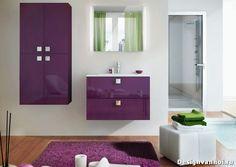 Сиреневая ванная комната 30 фото дизайна фиолетовой плитки