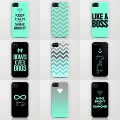 Tiffany iPhone Cases by RexLambo ($35) i love all of these ! Such nice colours :) I really want the like a boss one