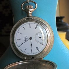 I want to fix my pocket watch. ...It doesn't have a face or movement. Kind of important...