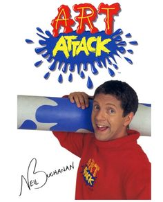 #art #attack #tvshow #childhood