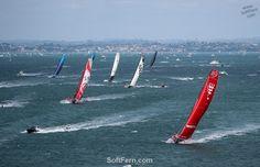 Volvo Ocean Race Grueling leg begins Volvo Ocean Race, Kite Board, Dinghy, Auckland, Kayaking, New Zealand, Sailing, Sail Boats, Legs