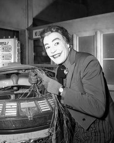 Batman Classic 1966 TV The Joker Goes To School Gallery Print