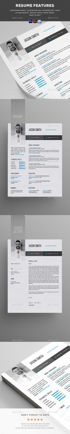 Resume Creative, Professional resume and Modern resume template - professional resume paper