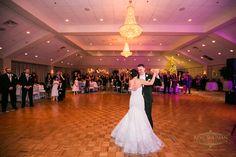 Beautiful Holiday Wedding at Springfield Country Club   Grand Ballroom   Photo: Ron Solimon Photojournalism