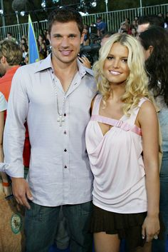 Nick Lachey and Jessica Simpson | 38 Photos From The 2003 Teen Choice Awards That Will Make You Nostalgic