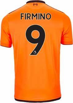 8b37adef1a3 2017 18 NB Roberto Firmino Liverpool 3rd Jersey. Buy it from www.soccerpro