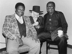 BB King, Johnny Winter and Muddy Waters