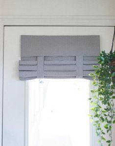 French Door Curtains with fast and easy, no holes, and no hardware needed installation. Like Roman Shades without all the fuss.