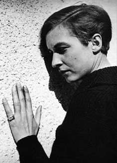 Annemarie Schwarzenbach, Sils 1938. Foto: Marianne Breslauer