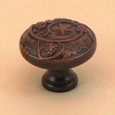 stone mill oilrubbed bronze napa valley cabinet knobs