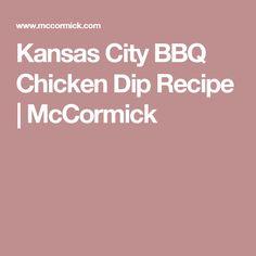Kansas City BBQ Chicken Dip Recipe | McCormick