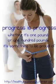 Don't get discouraged.. just think of how far you've come!