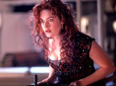 I love Kate Winslet with red hair in Titanic