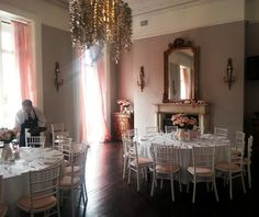 Custom Set-up in our PDR Private Dining Room, Town House, Cliff, Vanity, Lounge, Mirror, Big, Wedding, Furniture
