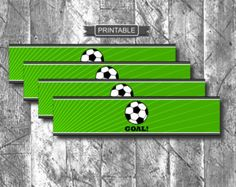 Mi piace molto! Soccer Birthday Parties, Soccer Party, Birthday Party Themes, Water Bottle Labels, Your Turn, Printables, Digital, Boys, Sports
