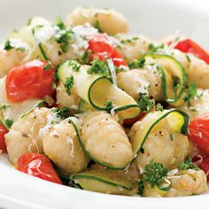 20 Meals in 20 Minutes    http://family.go.com/food/pkg-quick-easy-recipes/20-minute-recipes-pg/#Gnocchi with Zucchini and Parsley Brown Butter;1
