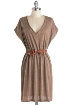 Wheat Belong Together Dress, #ModCloth Wouldnt this look awesome with some leather coygirl boots and a straw hat ?!!!!! :)