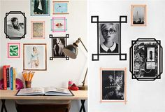 買了一堆「紙膠帶」卻不知道該怎麼用嗎?不妨試試看這20個簡單方法來裝飾你的家吧! - PTT01