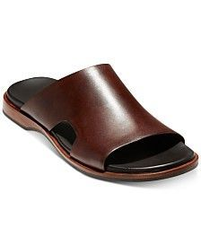 Cole Haan Men's Goldwyn Cross Band Sandals Men's Shoes In Chesnut Leather Men, Leather Shoes, Leather Sandals For Men, Black Leather, African Men Fashion, Mens Fashion, Fashion Boots, Men's Shoes, Dress Shoes